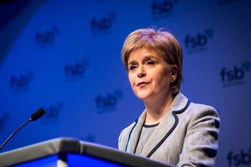 Nicola Sturgeon FSB
