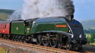 Borders Railway Steam Train
